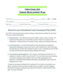 sample career plan career management plan template