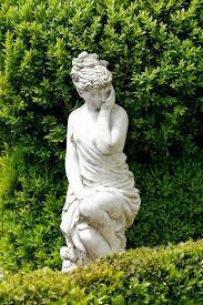 lawn boy statue. grass, woman, monument, statue, green, botany lawn boy statue