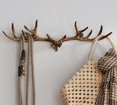 Antler Coat Rack Clearance Gorgeous Antler Row Of Hooks Pottery Barn