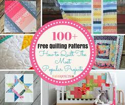 100+ Free Quilt Patterns: How to Quilt the Most Popular Projects ... & 100+ Free Quilting Patterns: How to Quilt the Most Popular Projects Adamdwight.com