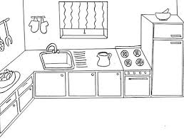 Small Picture Kitchen room 18 Buildings and Architecture Printable coloring