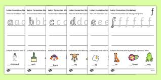 letters practice sheet letter formation worksheets a z handwriting letter