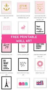 Free Wall Printables Free Printable Wall Art Makes Fantastic Money And Time Saving Home