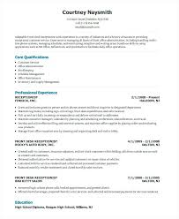 Resume For Receptionist Examples Resume Receptionist Resume Letter