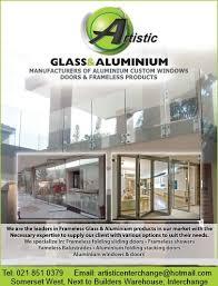 artistic glass aluminium