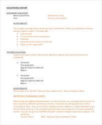61+ Executive Resume Templates | Free & Premium Templates
