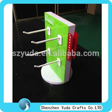 Rotating Hook Display Stand Gorgeous Rotating Acrylic Pop Stand Counter Top Hook Displays Perspex Display