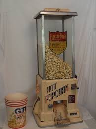 Popcorn Vending Machine For Sale Adorable Vintage Popcorn Machine Coin Operated By Electro Serve Hollywood
