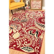 red accent rug home ginger red accent rug red kitchen accent rugs