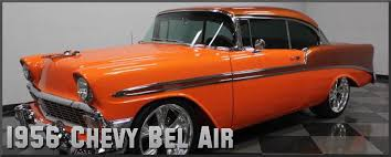 1956 chevrolet bel air factory paint colors