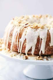 Glazed Walnut Butter Cake The Recipe Critic