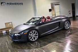 audi r8 convertible matte black. Modren Black And Audi R8 Convertible Matte Black