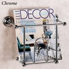 magazine rack wall mount:  full size of chrome polished magazine rack wall mount magazine rack single magazine rack beige pattern