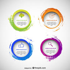 Graphics For Circle Design Vector Graphics