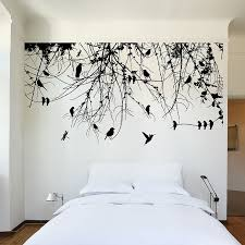 wd tree branch birds dragonfly wall decal x vintage vinyl wall