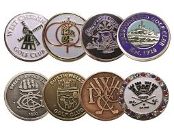 ball markers. 24mm enamel ball marker markers
