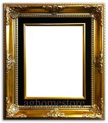vintage black frame. Antique Gold Leaf Wood Picture Frame Black Liner Vintage L
