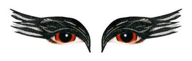 black swan eye makeup stickers daily