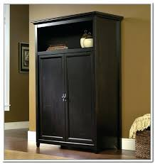 storage armoire beautiful storage with shelves amazing mahogany for home baker furniture sonoma craft armoire storage