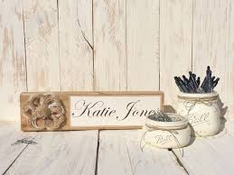 rustic office decor. wooden desk name plate office set storage rustic decor