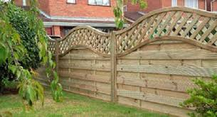 Small Picture Garden Picket Fencing Fence Panels Gates Trellises Jewson