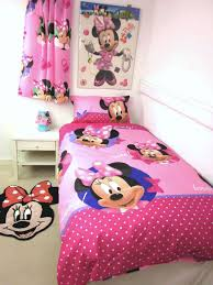 Minnie Mouse Bedrooms Decor Minnie Mouse Bedroom Decor For Little Girls Room Pictures