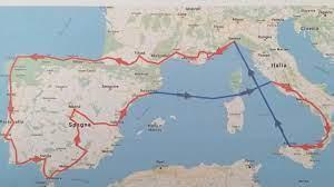 Viaggio in moto-Tour 2019- Francia Spagna Portogallo - YouTube