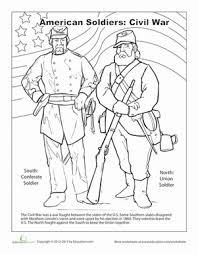 Small Picture Civil War Worksheet Educationcom