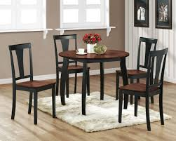 attractive small round kitchen table and chairs quoet set impressive 4