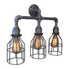 industrial bathroom lighting. west ninth vintage betty cage 3light vanity fixture bathroom lighting industrial m