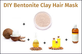 diy bentonite clay hair mask recipe