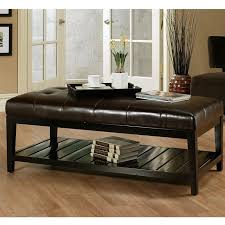 Coffee Table Leather Ottoman Part   33: Inspiring Leather Coffee Table  Ottoman Coffee Table Leather Ideas