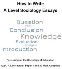 a level sociology essays how to write them revisesociology seven examples of sociology essays and more advice