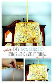 drum shade chandelier fabric drum shade chandelier tutorial drum shade chandelier oil rubbed bronze