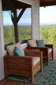 easy to build sy modern outdoor chairs for deck or patio free plans by ana white com