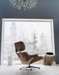 eames white lounge chair ottoman by charles ray eames