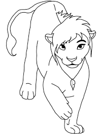 Small Picture Free Printable Coloring Pages Of Lions Coloring Coloring Pages