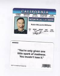Fake I Robin California Card In d Fun Williams Memory