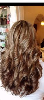 golden brown shade everyday long light and dark brown hair color