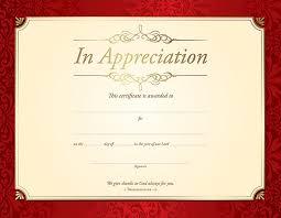 Certificates Of Appreciation In Appreciation Certificate 1 Thessalonians 1 2 Pk 6