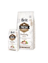 <b>Brit Fresh Turkey</b> with Pea Adult Fir & Slim Dry Dog Food (2.5kg ...