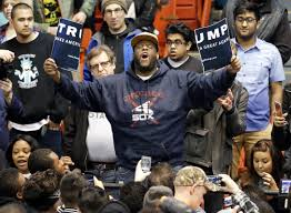 Image result for best fights at trump rallies