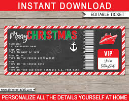 Cruise Gift Certificate Template Pin By Template On Template Cruise Tickets Ticket