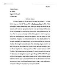 the wife of bath s tale is an exemplum providing an answer to the  page 1 zoom in