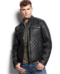 Guess Diamond Quilted Jacket in Black for Men | Lyst & Gallery Adamdwight.com