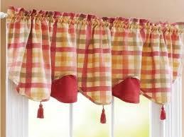 Red Plaid Kitchen Curtains Plaid Kitchen Curtains Valances Cliff Kitchen
