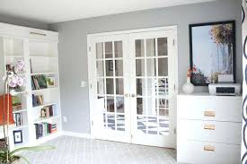 ikea office makeover. Office Bookshelves Ikea Makeover Reveal Hack Built In Billy Bookcases H