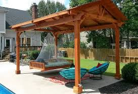free standing patio cover. How To Build A Freestanding Patio Cover Inspirational Out Free Standing