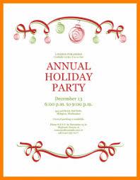 Party Invitation Template Word Free Invitation Template Holiday Party Free Invitation