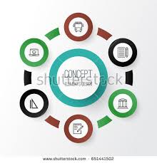 essay stock vectors images vector art shutterstock collection of measurement distance learning paper and other elements